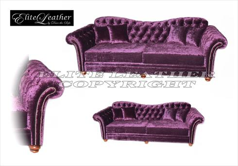 Gold Chesterfield Footstool